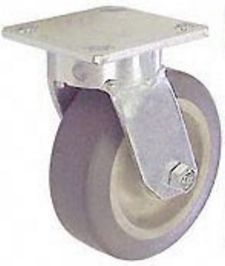 "65 Series Swivel Caster - 6"" x 2"" Performance TPR Wheel - 525 lb. Cap."