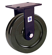 "76 Series Rigid Caster with 10"" x 3"" Phenolic Wheel and 2,900 lb. Capacity"