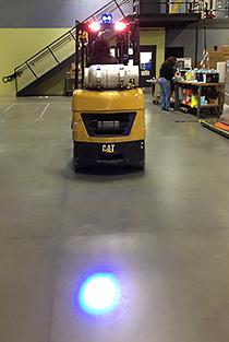 Forklift Amp Vehicle Approach Warning Light 770blu