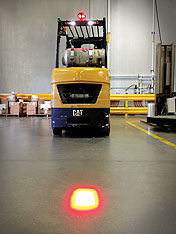 Forklift Approach Warning Light - LED Red