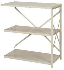 "Open Counter Shelving - 36""w x 18""d x 39""h , Adder W/ 3 Heavy Duty Shelves, 900 lbs Per Shelf Capacity"