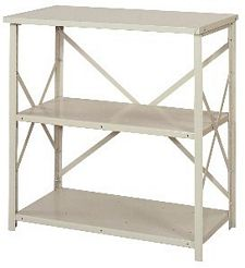 "Open Counter Shelving - 36""w x 24""d x 39""h , Starter W/ 3 Heavy Duty Shelves, 800 lbs Per Shelf Capacity"
