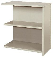 "Closed Counter Shelving - 36""w x 18""d x 39""h , Adder W/ 3 Heavy Duty Shelves, 900 lbs Per Shelf Capacity"