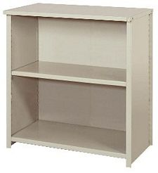 "Closed Counter Shelving - 36""w x 18""d x 39""h , Starter W/ 3 Heavy Duty Shelves, 900 lbs Per Shelf Capacity"