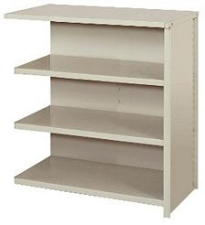 "Closed Counter Shelving - 36""w x 24""d x 39""h , Adder W/ 4 Heavy Duty Shelves, 800 lbs Per Shelf Capacity"