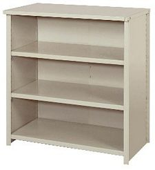 "Closed Counter Shelving - 36""w x 24""d x 39""h , Starter W/ 4 Heavy Duty Shelves, 800 lbs Per Shelf Capacity"