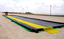 "Containment Berm Economy Track Belts:  Set of (2), 30""  x 66', Reinforced, 36 mil"