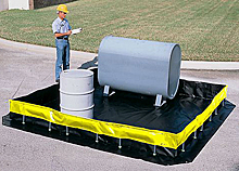 Collapsible Wall Containment Berm - 10' x 10' x 1'
