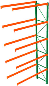 Pallet Rack Adder - 216h x 42d x 120w, 5 Beam Levels - 6700 Cap. Beams