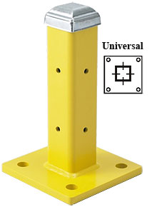 "12"" Universal Post with Cap, Single High"