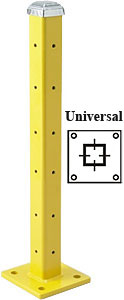 "42"" Universal Post with Cap, Triple High"