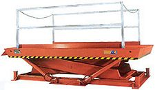 Pit Mounted Dock Lift with 7 x 12 platform - 16000 lb. Capacity