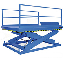 Pit Mounted Dock Lift with 6 x 10 platform - 10000 lb. Capacity