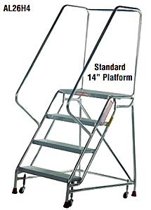 Cisco Eagle Catalog 4 Step Aluminum Mobile Ladder Stand