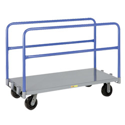 "Adjustable Sheet & Panel Truck w/ Phenolic Casters - 24"" x 60"""