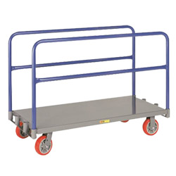 "Adjustable Sheet & Panel Truck w/ Polyurethane Casters - 24"" x 48"""