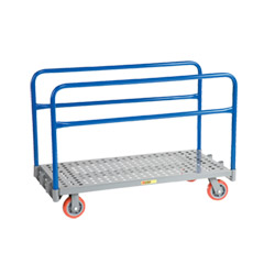 "Perforated Deck Adjustable Sheet & Panel Truck - 24"" x 48"""