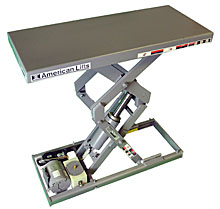 "Scissor Lift - 12 X 25, 25"" Travel, 500 lb. Cap."
