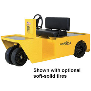 2-Person Maintenance Vehicle - 48 Volt, 17.7 HP, 1,000 lb. Load/2,000 lb. Tow Capacity