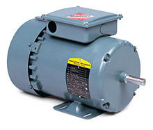 Brake Motor - 1 Hp, 208-230/460 VAC, 3 Phase, 143TY Frame,1800 Rpm