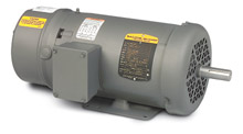 Brake Motor - 2 HP, 208-230/460 - 1800 RPM, FT-MTD, 56 NEMA Frame, 17.11-in. C Dim.