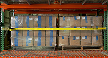 Rack Safety Strap for Pallet Bays - for Teardrop or Slotted Rack