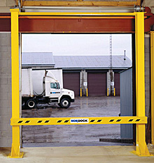 Dock Door Safety Gate - 9'x9' Opening