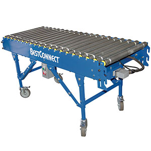 "BestConnect Modular Conveyor - 10' Straight Section, 24"" W"