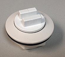 Cisco Eagle Catalog Bulkhead Drain Low Profile White