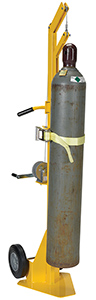 Cylinder Lifting Dolly - Hard Rubber Wheels