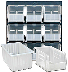Clear View Bins & Racks