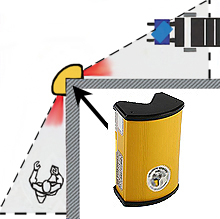 Infrared Warehouse Collision Sensor