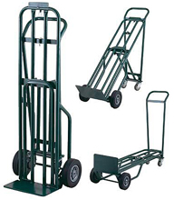 3-Position Steel Convertible Handtruck