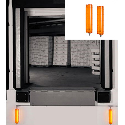 Wall Mounted LED Loading Dock Guide Lights - Pair