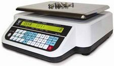 DC-782 Portable Counting Scale - 60 lbs Cap, 110 VAC