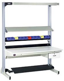 "Technical Workstation, 72"" x 30"", Single Side, ESD Laminate Top - Starter"