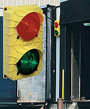 Dock Traffic Light w/ LED Lights