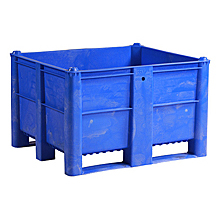 "Box Pallet Container - 48""W x 40""D x 29""H, Solid Sides"