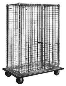 "Dolly Truck Security Cage - 51-1/4""w x 27-1/4""d x 69""h"
