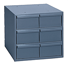 "6 Drawer Modular Cabinet (Vertical) with 11-1/4"" Deep Drawers"