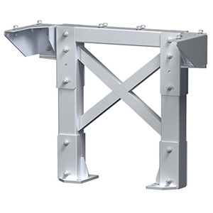 "Modular Tower Support - 3 Step, 26""W x 4""D, Stacking Base"