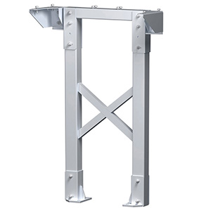 "Modular Tower Support - 6 Step, 26""W x 4""D, Stacking Base"
