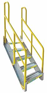Stair Modules. Holds Up Platform With ...