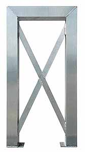 "Modular Tower Support, 5 Step - 26""W x 4""D x 48"" Clearance Height"