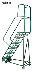 Folding Mobile Ladder Stands
