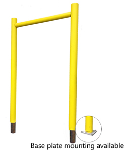 "Goal Post Door Guard - 168"" w x 168"" h"