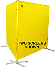 Privacy/Safety Screen - Single Panel, 8' W x 8' H