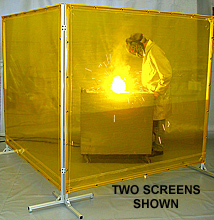 Weld Tuff Screen - Single Panel, 6' W x 8' H