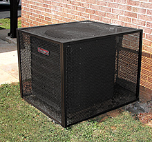 Air Conditioner Cages Utility Amp Hvac Security Cages