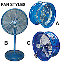 High Velocity Fans | Air Destratifying Fans | Air Cooling Fans
